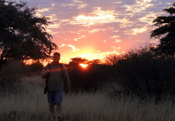 Kalahari hunt reflection