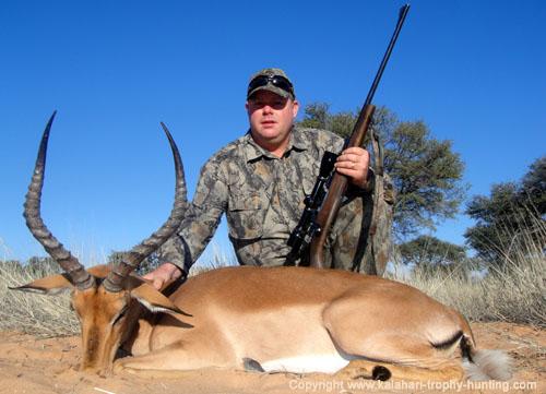 Impala Hunting, Namibia