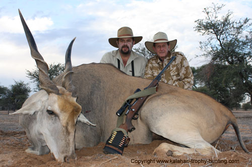 Kalahari Eland hunting, Namibia