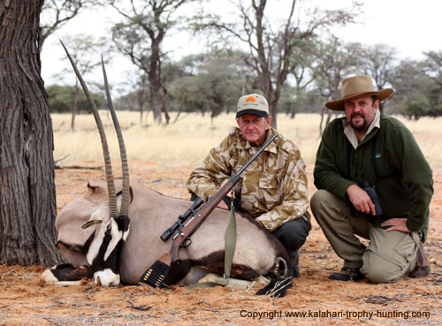 Namibia Gemsbok Hunt