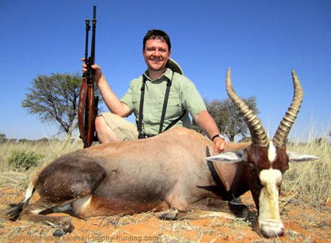 Kalahari Blesbok hunt, Namibia