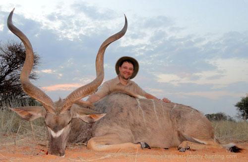 Kalahari Kudu hunt, Namibia