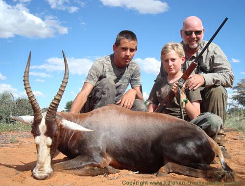 Blesbok Hunt Namibia