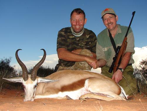 Kalahari Springbok Hunt Namibia