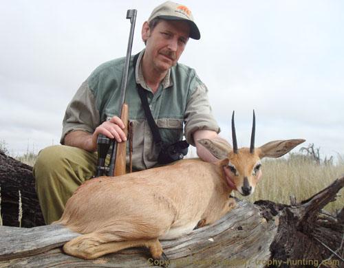 Kalahari Steenbok Hunt Namibia