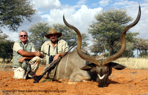 Namibia Kudu Hunt