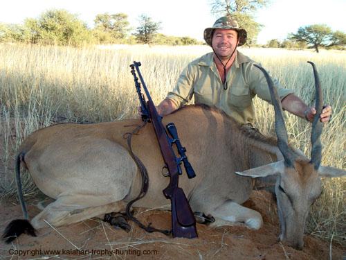 Kalahari Eland Hunt Namibia