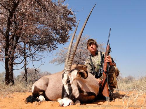 Kalahari Gemsbok Hunting, Namibia