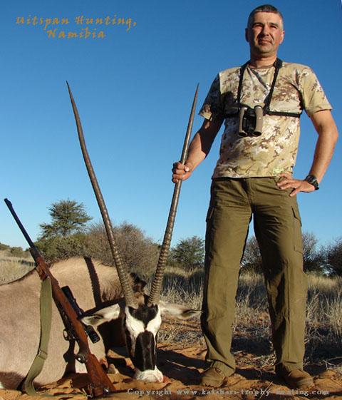 Kalahari Gemsbok Hunt Namibia