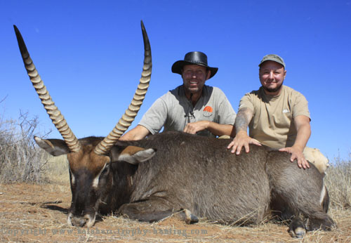 Waterbok Hunt Namibia