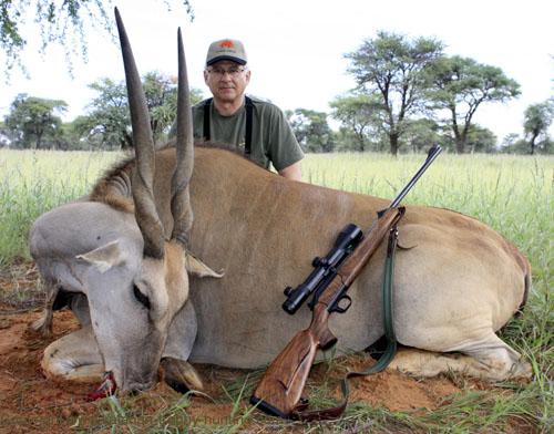 Eland trophy hunting Namibia