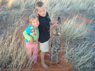 Jackal Hunt Namibia