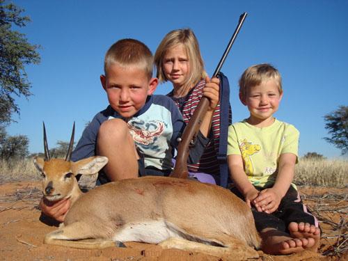 Steenbok Hunt Namibia