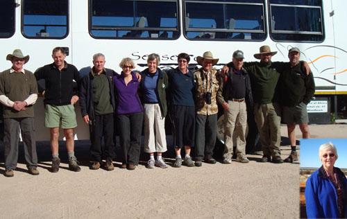 New Zealanders Tour Africa