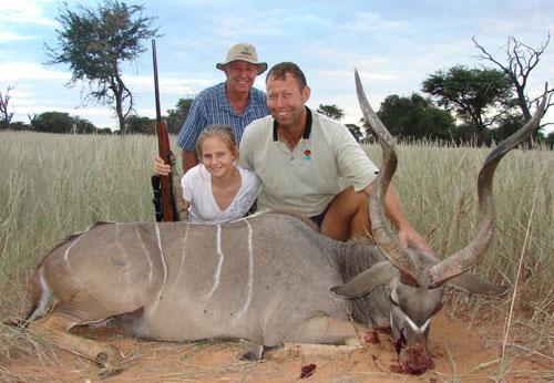 Youth Kudu Hunt Namibia