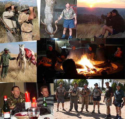 New Zealanders hunt Africa
