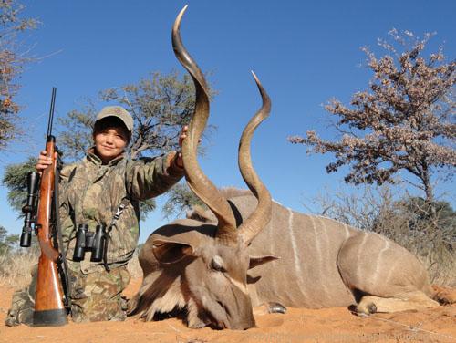 Kudu Hunting, Namibia