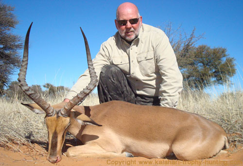 Black-faced Impala Hunt Namibia