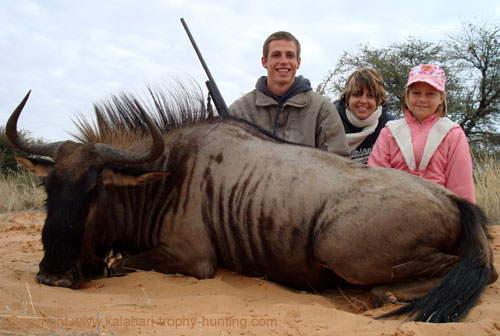 Kalahari Blue Wildebeest Hunt Namibia