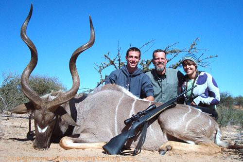 Kudu Hunt Namibia