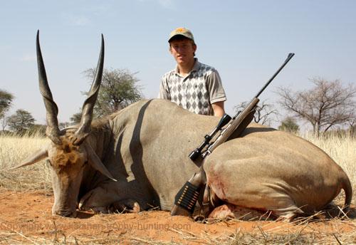 Eland Hunt Namibia