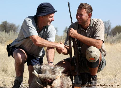 Namibia Warthog Hunt