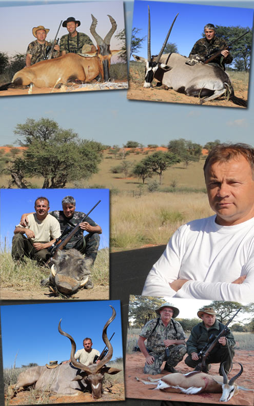 Kalahari hunt, Namibia