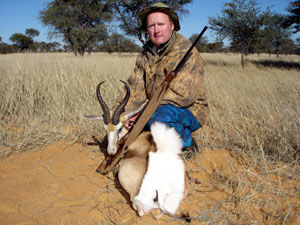 springbok trophy,springbok hunting