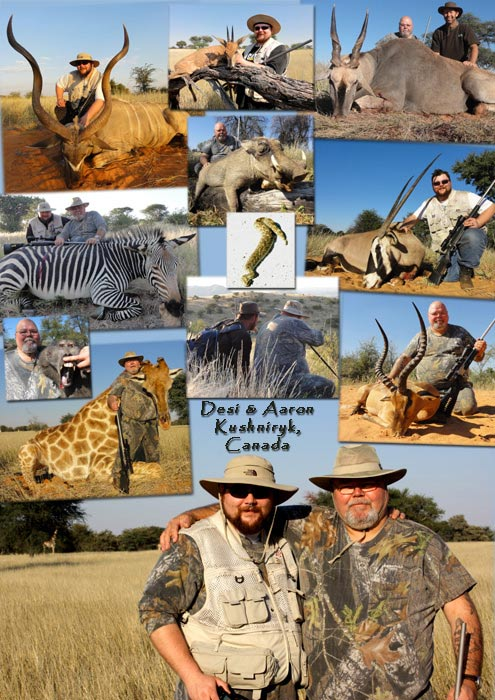 Namibia trophy hunting