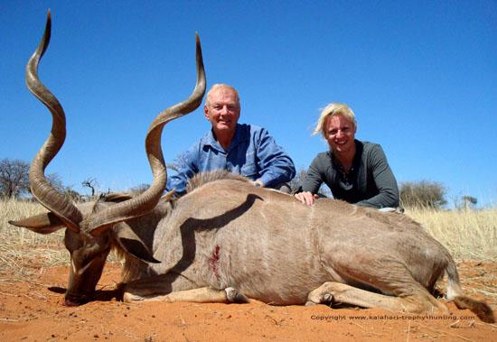 Kudu Hunts Namibia
