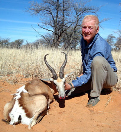 Kalahari Springbok hunt