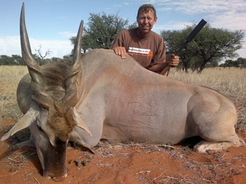 Namibia eland hunting