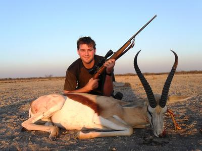 My 17' Springbok Trophy