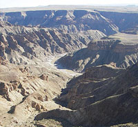 Fish River Canyon,Namibia travel