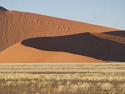 Sanddunes Namibia Desert