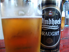 Namibia beer... the best!