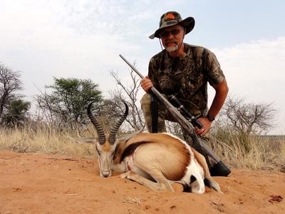 A Springbok trophy