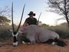 My Gemsbok trophy