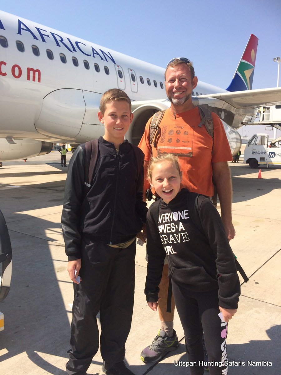 Air Travel Tips Hunters to Africa