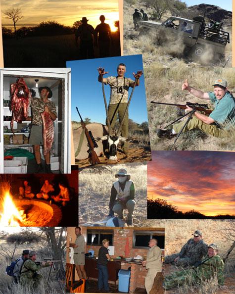 Kalahari Hunting 2010 Namibia