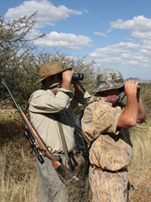 Kalahari Hunting, Namibia