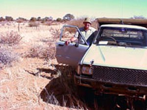 Old Toyota vehicle