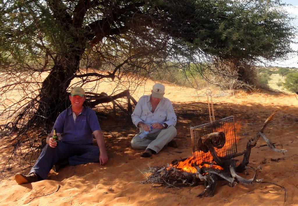 Kalahari hunt experience