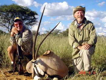 Namibia Gemsbok Hunt