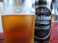 windhoek beer,namibia travel