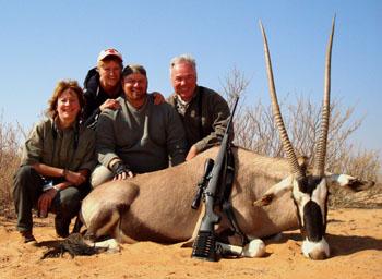 Kalahari Gemsbok Hunt